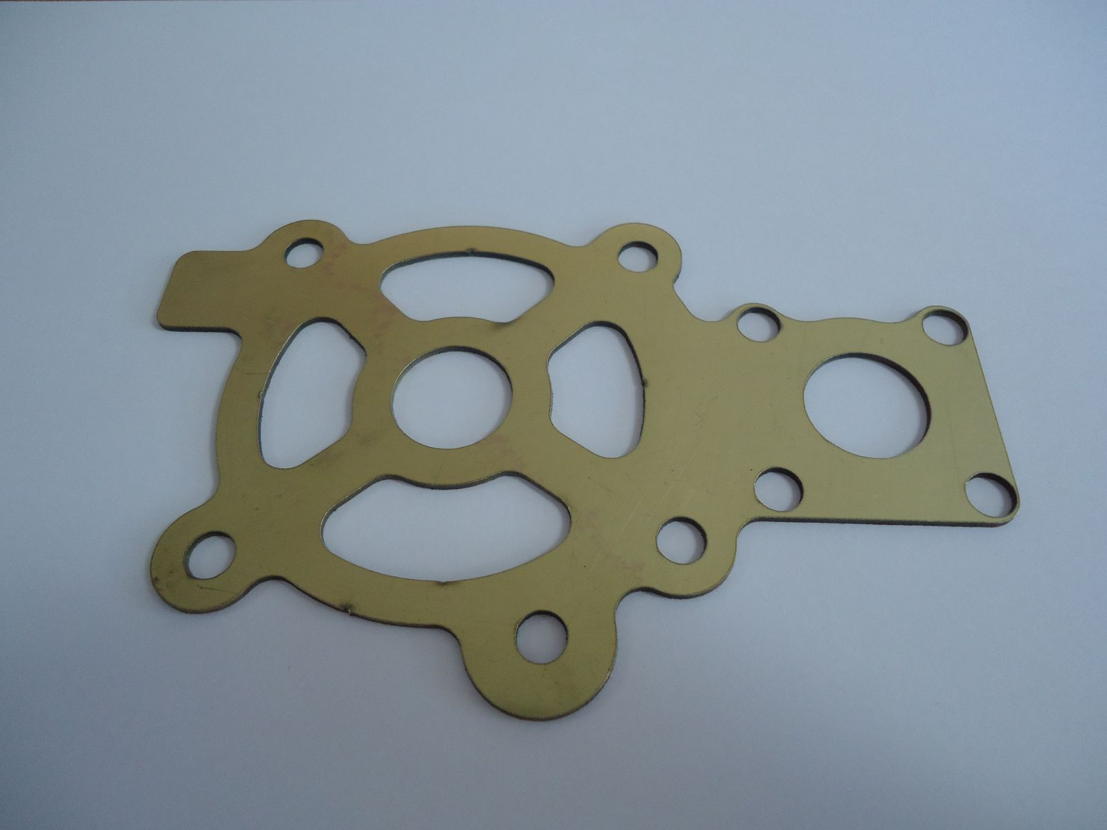 Copper waterjet cut gasket